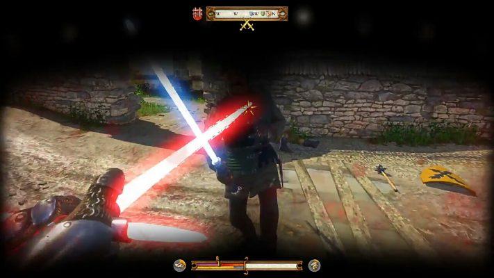 Le spade laser in Kingdom Come: Deliverance