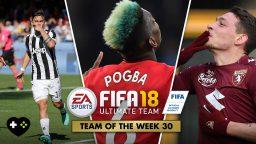 FIFA Ultimate Team – TOTW 30 – L'aggiornamento dell'11 aprile