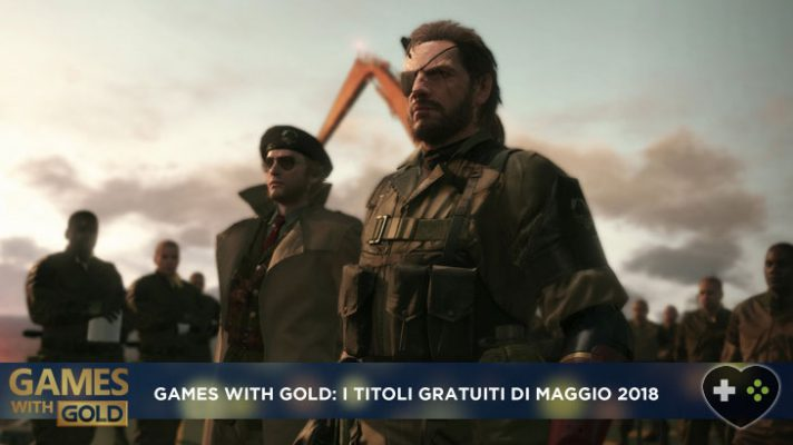 Games with Gold may 2018