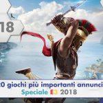 I 20 giochi più importanti annunciati all'E3 2018