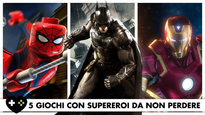 5 giochi con supereroi da non perdere