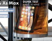 iPhone XS e XS Max sopravvivono a un tuffo nella birra, ma alle cadute?