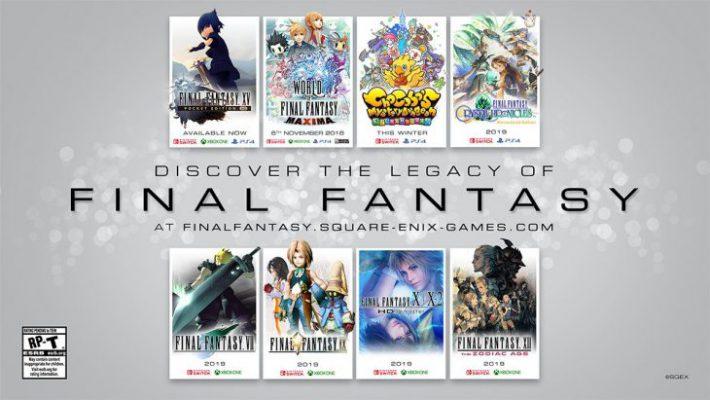 Ben 8 Final Fantasy stanno per tornare su Switch, PS4, Xbox One e PC
