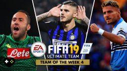 FIFA 19 Ultimate Team – TOTW 4 – La Squadra della Settimana 4