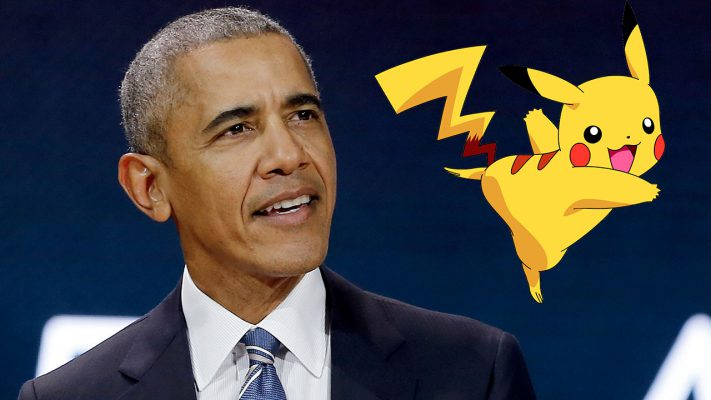 Barack Obama cita i Pokémon per le imminenti elezioni USA