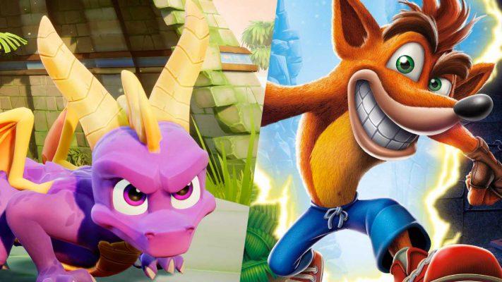 Spyro e Crash insieme in un bundle che trasuda nostalgia da tutti i pori