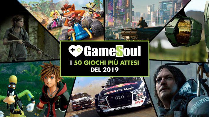 I 50 giochi più attesi del 2019