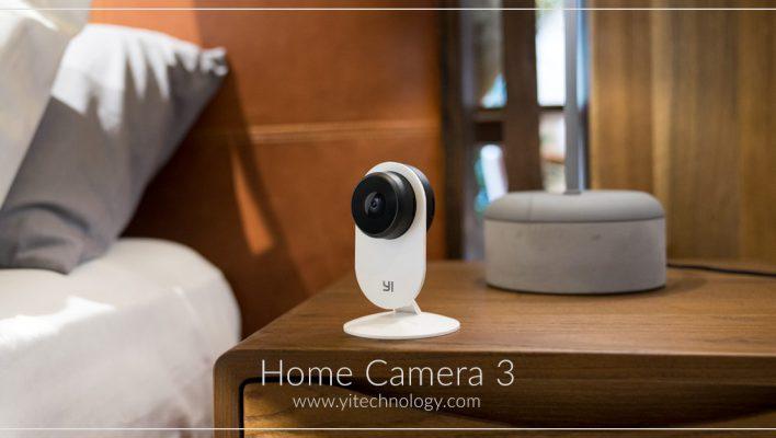 YI Home Camera 3, presentata la home camera con Intelligenza Artificiale – CES 2019