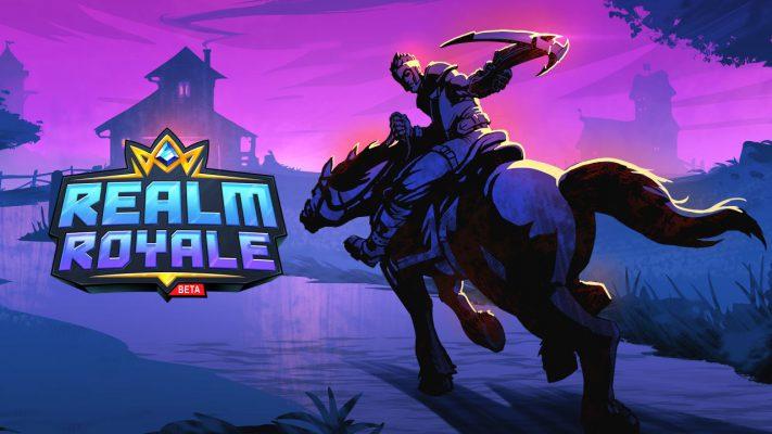 L'open beta di Realm Royale inizia domani su PlayStation 4 e Xbox One