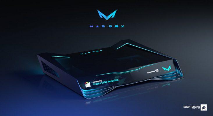 Mad Box: Ian Bell mostra il futuristico design della console
