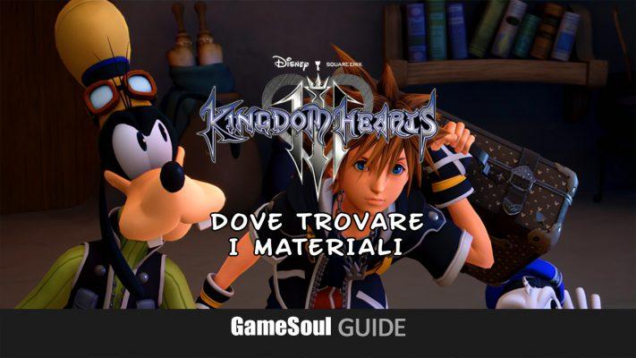 Kingdom Hearts 3 – Ottenere Fluorite, Damasco, Adamantite, Electrum   Guida