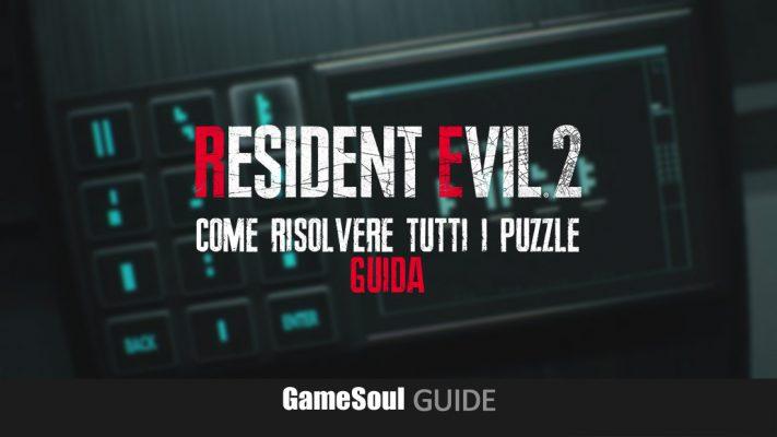 Resident Evil 2 – Come risolvere tutti i puzzle   Guida