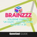 """BrainZZZ – Soluzione """"Un colpo – Collega i punti"""": Facile da 1 a 20"""