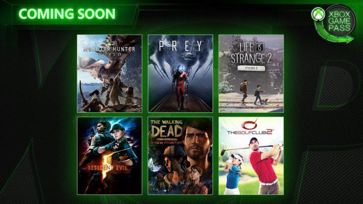 Monster Hunter: World e Prey tra i giochi di aprile su Xbox Game Pass