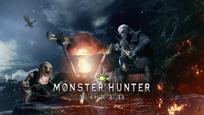 Monster Hunter: World, Geralt di Rivia sbarca anche su PC a maggio