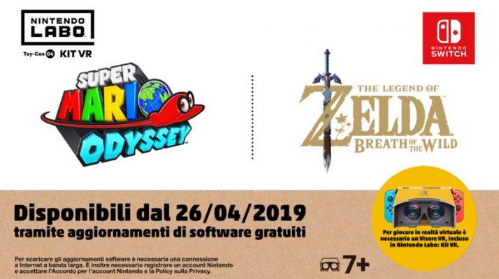 Mario Zelda VR