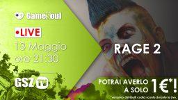 RAGE 2 – Live Streaming con Sconti Esplosivi!