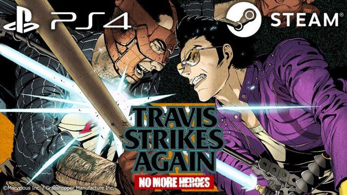 Travis Strikes Again No More Heroes