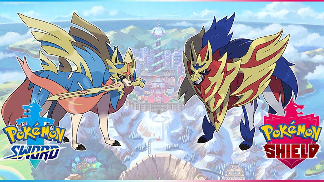 Pokémon Spada E Scudo, I Nuovi Leggendari, La Wild Area E