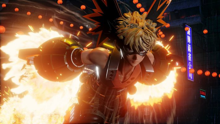 Jump Force Bakugo