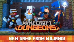 Mojang annuncia Minecraft Dungeons all'E3 2019