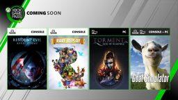 Resident Evil: Revelations e Goat Simulator tra i nuovi giochi su Xbox Game Pass