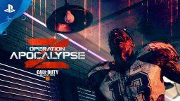 Call of Duty: Black Ops 4, Operation Apocalypse Z arriva oggi su PS4, trailer