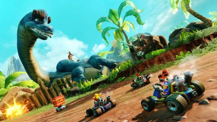"Crash Team Racing, data e contenuti del secondo Grand Prix ""Back'N Time"""