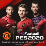 eFootball PES 2020: Konami e il Manchester United siglano una partnership