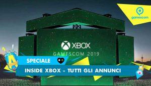 Inside Xbox – Tutti gli annunci dalla Gamescom