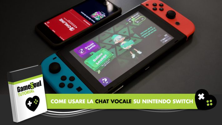 nintendo switch chat vocale