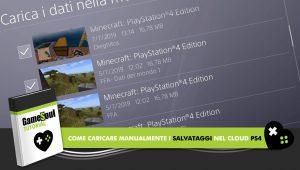 Come caricare manualmente i salvataggi nel Cloud PS4 – Tutorial