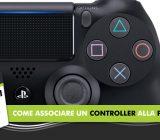 Come associare il controller alla PS4 -Tutorial