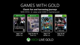 Games with Gold settembre