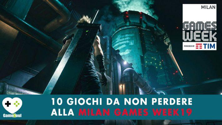 10 giochi da non perdere alla Milan Games Week 2019
