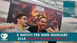5 motivi per non mancare alla Milan Games Week 2019