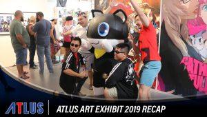 atlus art exhibit recap