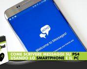 Come scrivere messaggi su PS4 usando lo smartphone e il PC – Tutorial