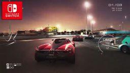 GRID Autosport mostra il gameplay della versione Nintendo Switch