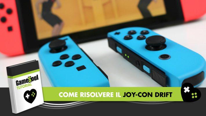 Joy-Con drift: come risolvere il problema su Nintendo Switch