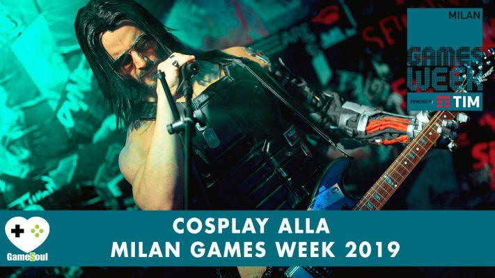 Cosplay alla Milan Games Week 2019