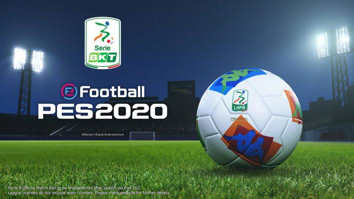 eFootball PES 2020: ora disponibile la Serie B e molto altro