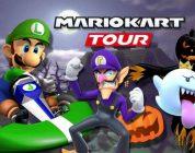 Luigi, Waluigi e King Boo su Mario Kart Tour per Halloween