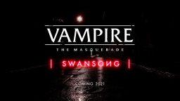 Annunciato Vampire: The Masquerade – Swansong per il 2021