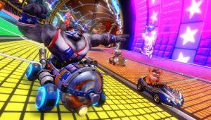 Crash Team Racing, trailer e dettagli del Gran Premio Neon Circus