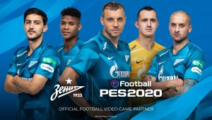 eFootball PES 2020, anche lo Zenit San Pietroburgo tra le squadre partner