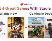 Google Stadia Pro, annunciati i giochi gratuiti di dicembre