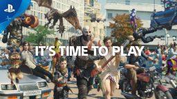Il nuovo spot di PlayStation è un bellissimo mash-up di personaggi indimenticabili