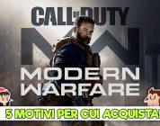 Call of Duty: Modern Warfare – 5 motivi per cui vale la pena acquistarlo