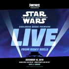 Star Wars: Episodio IX, una sequenza inedita in anteprima… su Fortnite